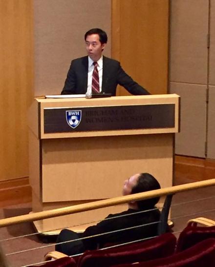 Daniel Chu at Brigham & Women's Hospital