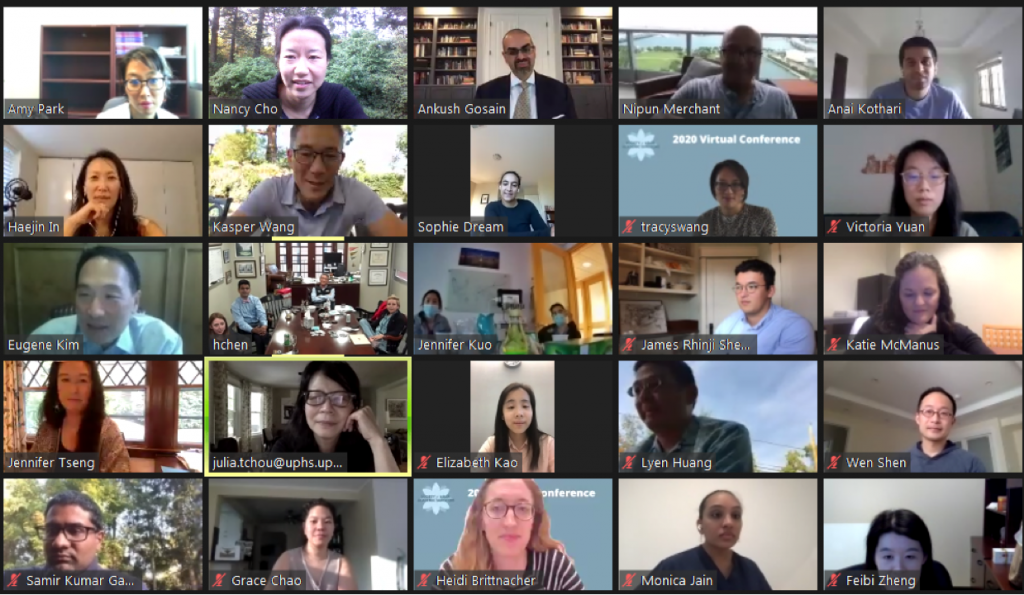 Every hour is happy hour at SAAS: Attendees of the SAAS Fifth Annual Meeting participated in panels and discussions virtually via Zoom.