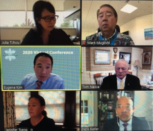 In the first session, SAAS Fifth Annual Meeting attendees discussed over Zoom how different entities have adapted to the COVID-19 pandemic and worked toward racial justice.