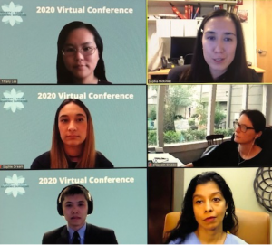 In the second session, SAAS annual meeting panelists shared their advice in mastering this new communication format via Zoom.