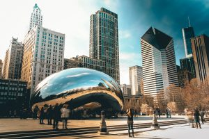 Cloud Gate, also known as the Bean (Source: Unsplash)